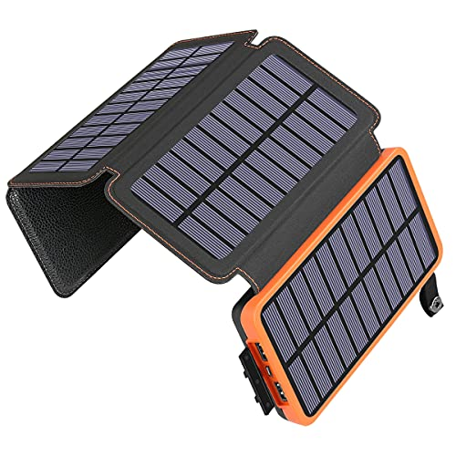 ADDTOP Solar Charger 25000mAh Huge Capacity Solar...