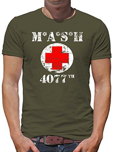 TShirt-People MASH 4077 T-Shirt Herren XXL Khaki