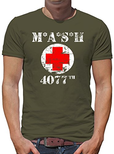 TShirt-People MASH 4077 T-Shirt Herren XL Khaki