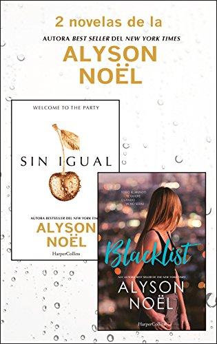 Pack Alyson Noël - Enero 2018 (Pack HarperCollins)