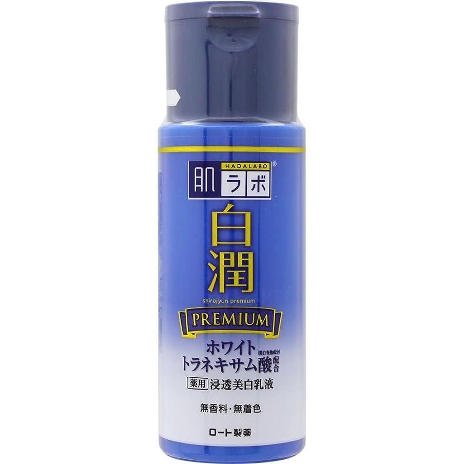 漏れ刻む滞在肌ラボ 白潤プレミアム 薬用浸透美白乳液 140mL (医薬部外品)