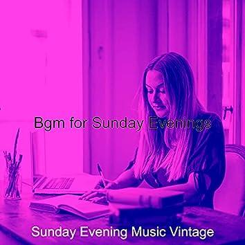 Bgm for Sunday Evenings