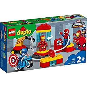 Amazon.co.jp - レゴ デュプロ マーベル スーパーヒーローたちの研究所 10921