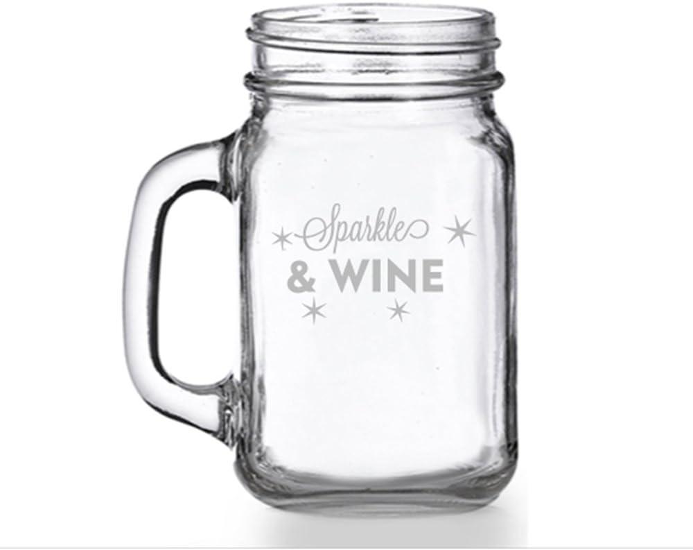 Sparkle And Oakland Mall Product Wine Mason Mug Jar