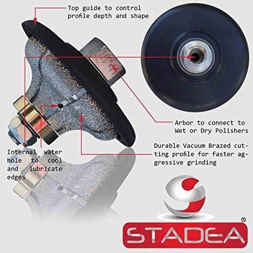 OFFer Stadea Diamond Profile Wheel Grinding Stone for 4