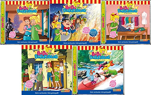 Bibi Blocksberg Hörspiel CD Folge 131 - 135 im Set - Deutsche Originalware [5 CDs]