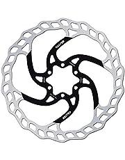 GALFER Bike MTB Disc Wave Ø180MM, Unisex niños, Plateado, Estándar