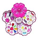 Hearthrousy - Estuche de cosméticos para niñas, con Bolso de Mano, Seguro y no tóxico