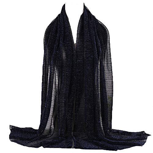 Vrouwen Effen Kleur Moslim Hoofddoek Turban Lichtgewicht Jersey Hijab Sjaal Wrap Arabia Islam Hoofdstuk
