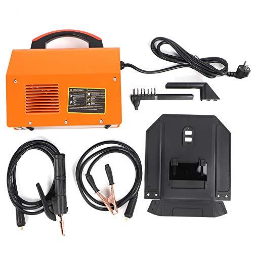 ARC MMA-200Amp, Kit de máquina de soldadura con varilla inversor, color naranja, kit de soldadura de vástago inversor, equipo de soldadura portátil EU 220 V