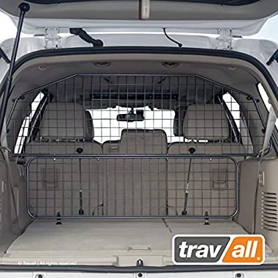 Travall Guard Plus Compatible with Ford Expedition and Lincoln Navigator (2006-Current) TDG1585 - Rattle-Free Full Height Steel Vehicle Specific Pet Barrier