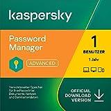 Kaspersky Password Manager | 1 Benutzerkonto | 1 Jahr | Windows/Mac/Android/iOS | Aktivierungscode...