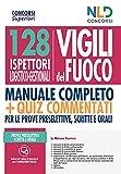 128 ispettori logistico-gestionali Vigili del Fuoco. Nuova ediz.