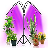 YOSTAR Grow Lights for Indoor Plants, 84 LED Plant Grow Light with Stand, Plant Growing Lamps for Seedlings...