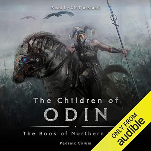 The Children of Odin audiobook cover art