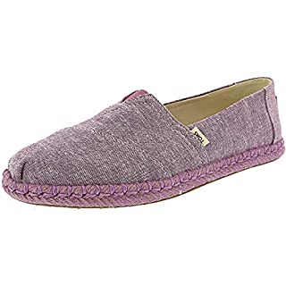 TOMS Women's Classic Slub Chambray Rose Violet Ankle-High Canvas Slip-On Shoes - 8.5M (B0798VT6J4) | Amazon price tracker / tracking, Amazon price history charts, Amazon price watches, Amazon price drop alerts