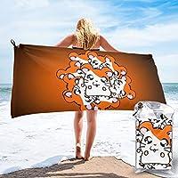 ハム太郎 (1) 人気 新品 抗菌防臭 速乾 バスタオル 旅行する 運動する 水泳 折りたたみ収納 タオル おしゃれ 携帯に便利である 柔ら 布 折り畳み包装pvc 冒険者