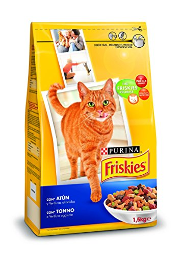 Purina Felix Sensations Crunchy - Comida para Gatos con Pescado, 3 x 100 gr