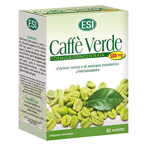 ESI Café Verde 500 mg Complemento Alimenticio - 60 Tabletas