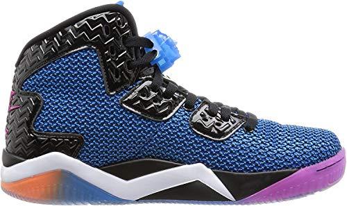 Nike Air Jordan Spike Forty, Zapatillas de Deporte para Hombre, Negro/Rosa/Naranja/Blanco (Black/FR Pink-PHT Bl-ATMC Orng-), 46 EU