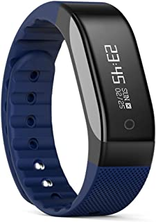 SMA Fitness Tracker,Waterproof Watch Bluetooth Wristband,Smart Bracelet Compatible iPhone, Android men /women