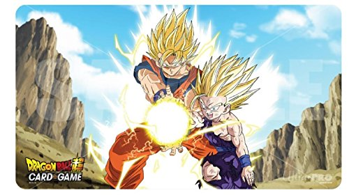 Ultra Pro Official Dragon Ball Super Father-Son Kamehameha Playmat with Playmat Tube