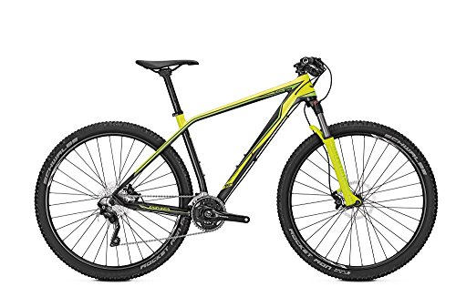 MTB Univega Summit Performance 29' 30G XT Herren in Carbon/Yellow Green, Rahmenhöhe:48