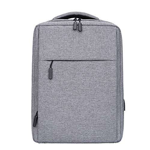 LICCC Backpack Urban Casual Backpack College Student Outdoor Bag, Men's And Women's College Computer Bag For 16' Laptops And Travel Bags - Grey/Black 40x31x13cm (Color : Gray)