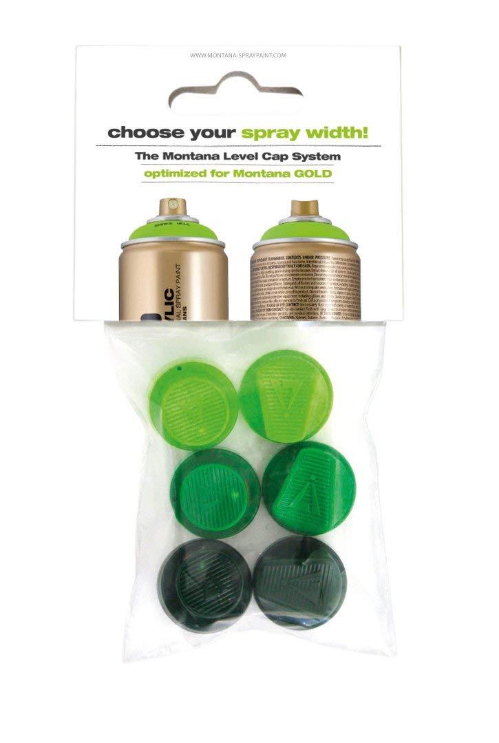 Montana Cans Montana GOLD 6 Green Capset Spray Paint Cap