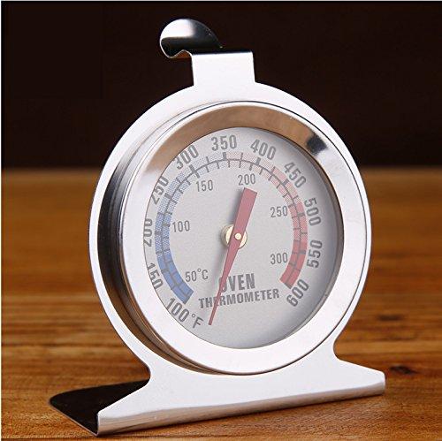 Zantec Termometro del forno,forno a legna, forno per pizza/Analogico/Termometro per sonda cibo in acciaio inox Utensile da cucina per sensore temperatura di cottura