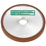1 Unids 100 * 20 * 10mm Disco de Rueda Rectificadora de Resina de Diamante para Cortador Grinder Lijado Pulido Grit 180