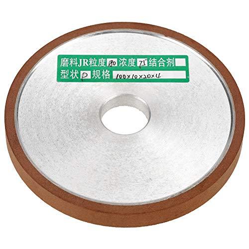 Langlebige Schleifscheibe, Schleifwerkzeug, starke Festigkeit 1 Stk. 100 * 20 * 10 mm Diamantharz für Schneidwerkzeug Polierkorn 180 Gezahntes Schleifverfahren