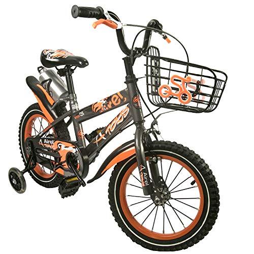Zerimar Bicicletas Infantiles para niños y niñas | Bici con ruedines y Cesta | Bici niño | Bicicleta niños 14,16,18 Pulgadas | Bicicletas niños 3-8 años