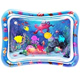 NASHRIO Tummy Time Baby Water Play Mat Toys for 3 6 9 Months, The Perfect Fun Toy for...