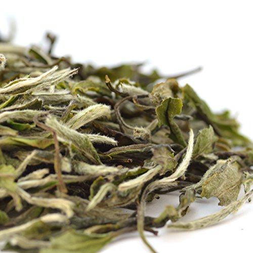 Teavivre® Organic White Peony (Bai MuDan) Tea Loose Leaf Chinese White Tea (1.75oz / 50g)