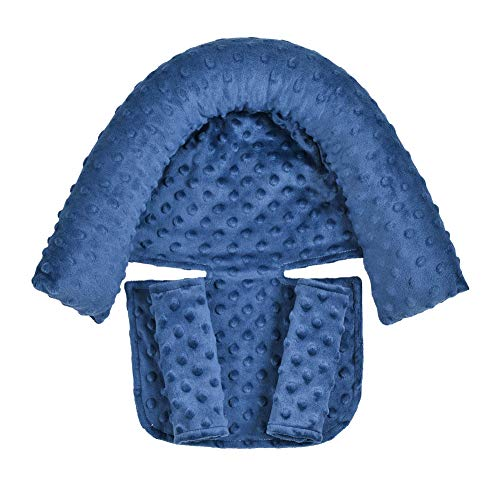 Super Soft Head and Neck Support Pillow and Seat Belt Cover...
