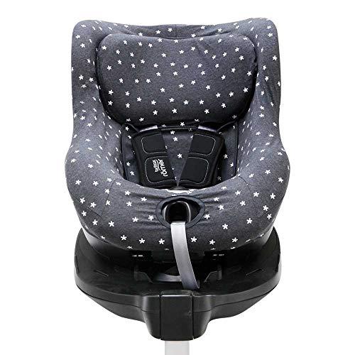 BAOBABS BCN - Funda para Silla de Coche Impermeable para Bebé | Grupo 1 | DUAL FIX I Size Römer | Universal y Transpirable | Color Grey Bunny