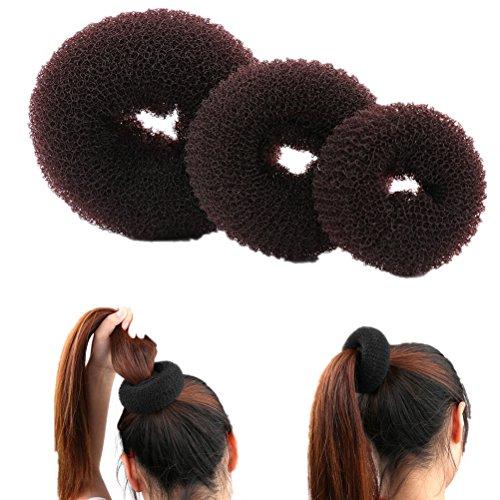 Cheveux Chignon Maille Maker Shaper Donut Ancien Anneau Twist Styler Cheveux Accessoires