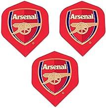 Art Attack Arsenal Soccer Football Premier League 75 Micron Strong Dart Flights (1 Set)