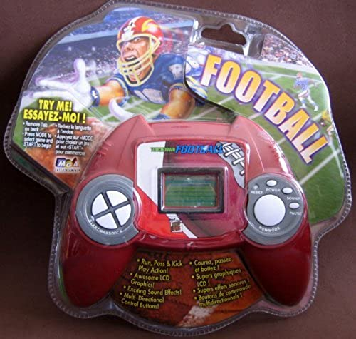 Deluxe Sports Games - Touchdown Football Hand Held Electronic Game by MGA