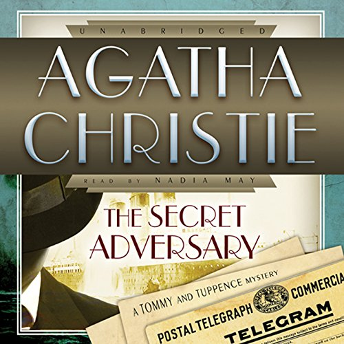 The Secret Adversary audiobook cover art