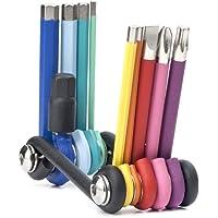 Kikkerland Rainbow Multi Tool Set