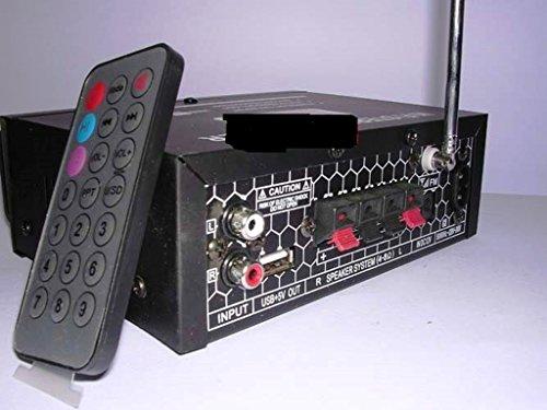 AMPLIFICATORE STEREO HIFI LETTORE MP3 USB HI FI EQUALIZZATORE FM SD USB M-20
