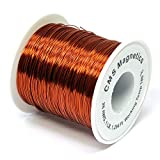 26 Gauge Magnet Wire for Science Projects | Enameled Copper Wire w/Working Temperature 356 F for School and Lab, One Pound