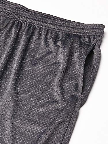 Champion Men's Long Mesh Short With Pockets,Granite Heather,XXLARGE