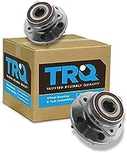 TRQ Front Wheel Hubs & Bearings Pair Set of 2 for 99-04 Grand Cherokee 5 Lug