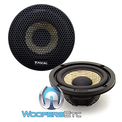 Best Price Focal 3FX 3 50W RMS Expert Series Midrange Speakers with Grills