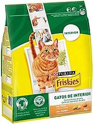 Friskies Purina Control Bolas de Pelo Pienso para Gato de Interior Pollo y Verduras 3 Kg