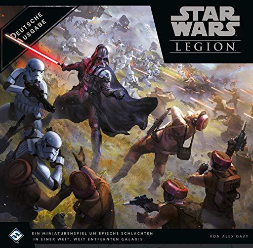 Asmodee Star Wars: Legion, Grundspiel, Expertenspiel, Tabletop, Deutsch