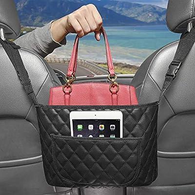 Amazon - Save 10%: Car Handbag Holder, Diggtek Car Net Pocket Handbag Holder with Poc…